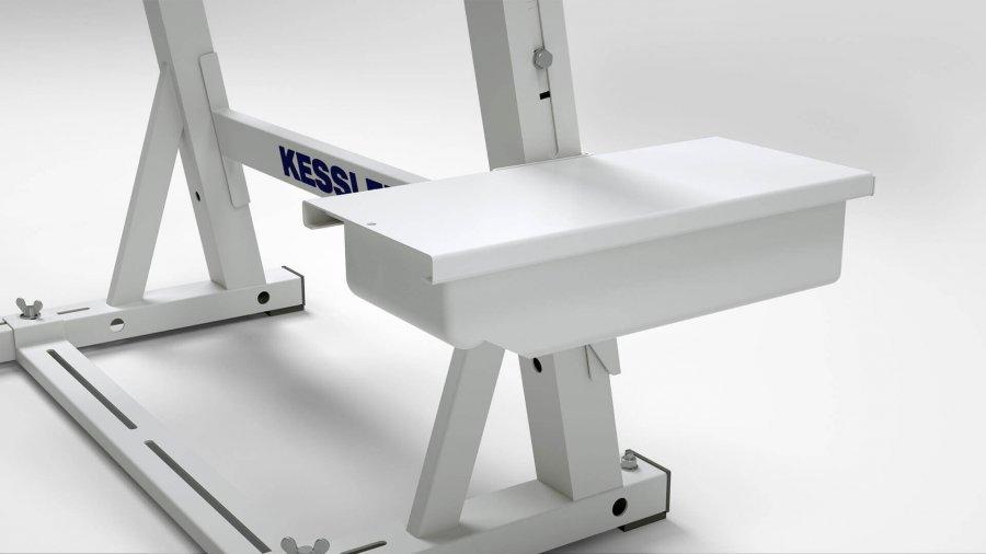Sitz- oder Steharbeitsplatz KES-B – Schubfach für Seitenteil