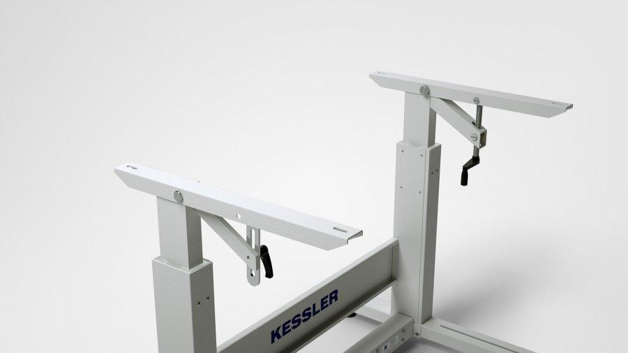 Nähmaschinen-Untergestell KES-2000 – neigbare Tischplattenauflage