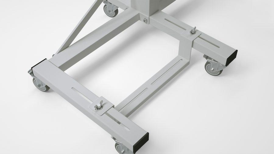 """Nähmaschinen-Untergestell KES-2000 – Pedalleiste """"RO75"""""""