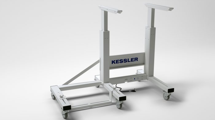 "Alternative mit Handkurbel KES - 2100 – Seitenausleger ""RO75"""