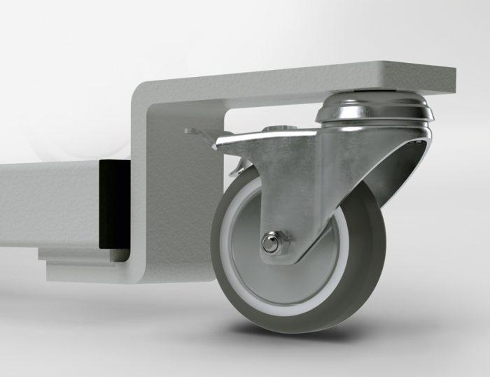 "Alternative mit Handkurbel KES-2100 – Z-Ausleger ""RO75"""