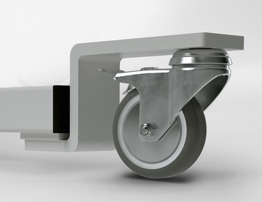 """Alternative mit Handkurbel KES-2100 – Z-Ausleger """"RO75"""" von KESSLER"""