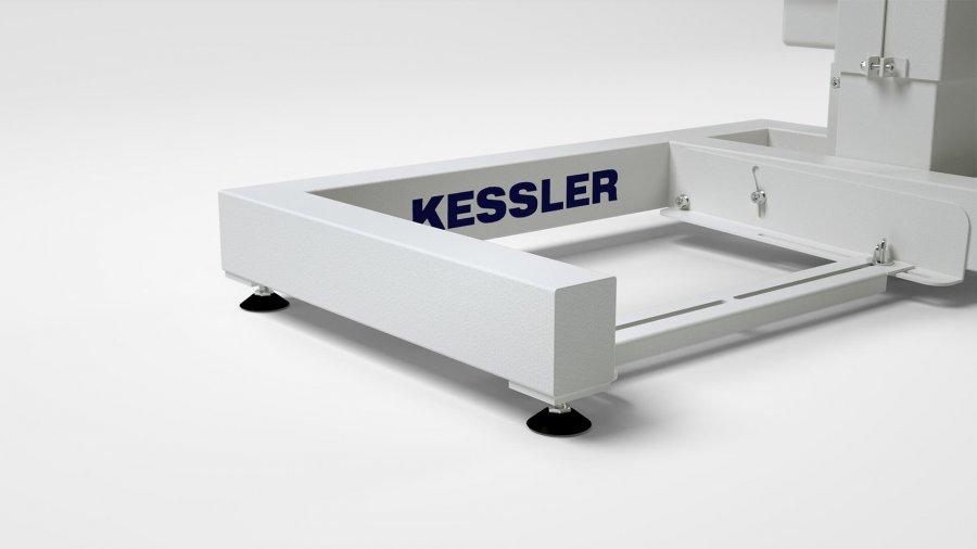 """Einsäulen-Untergestell KEG, """"GL"""" von KESSLER"""