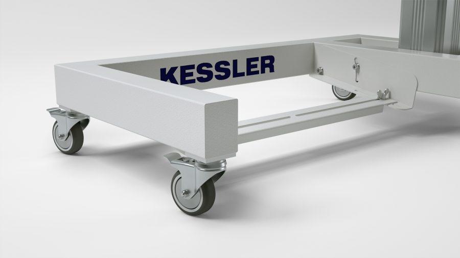 """Einsäulen-Untergestell KEG, """"RO75"""" von KESSLER"""