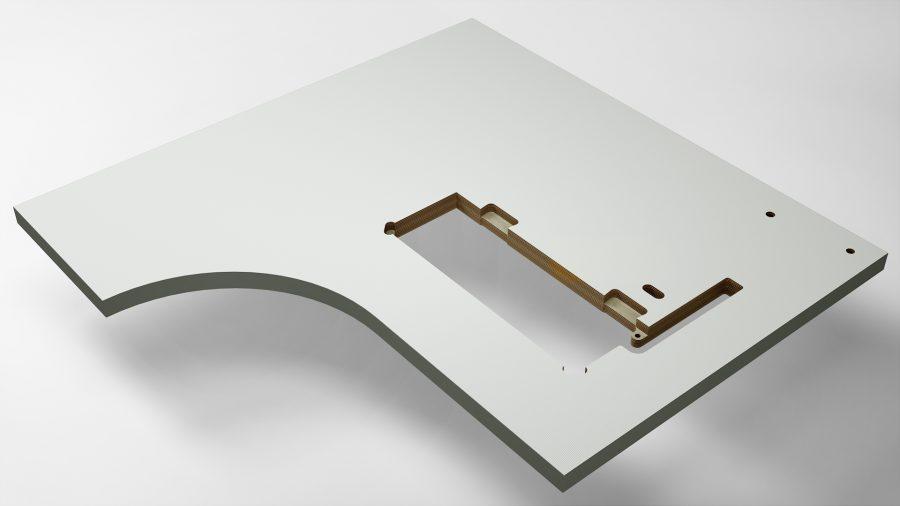Sondertischplatte