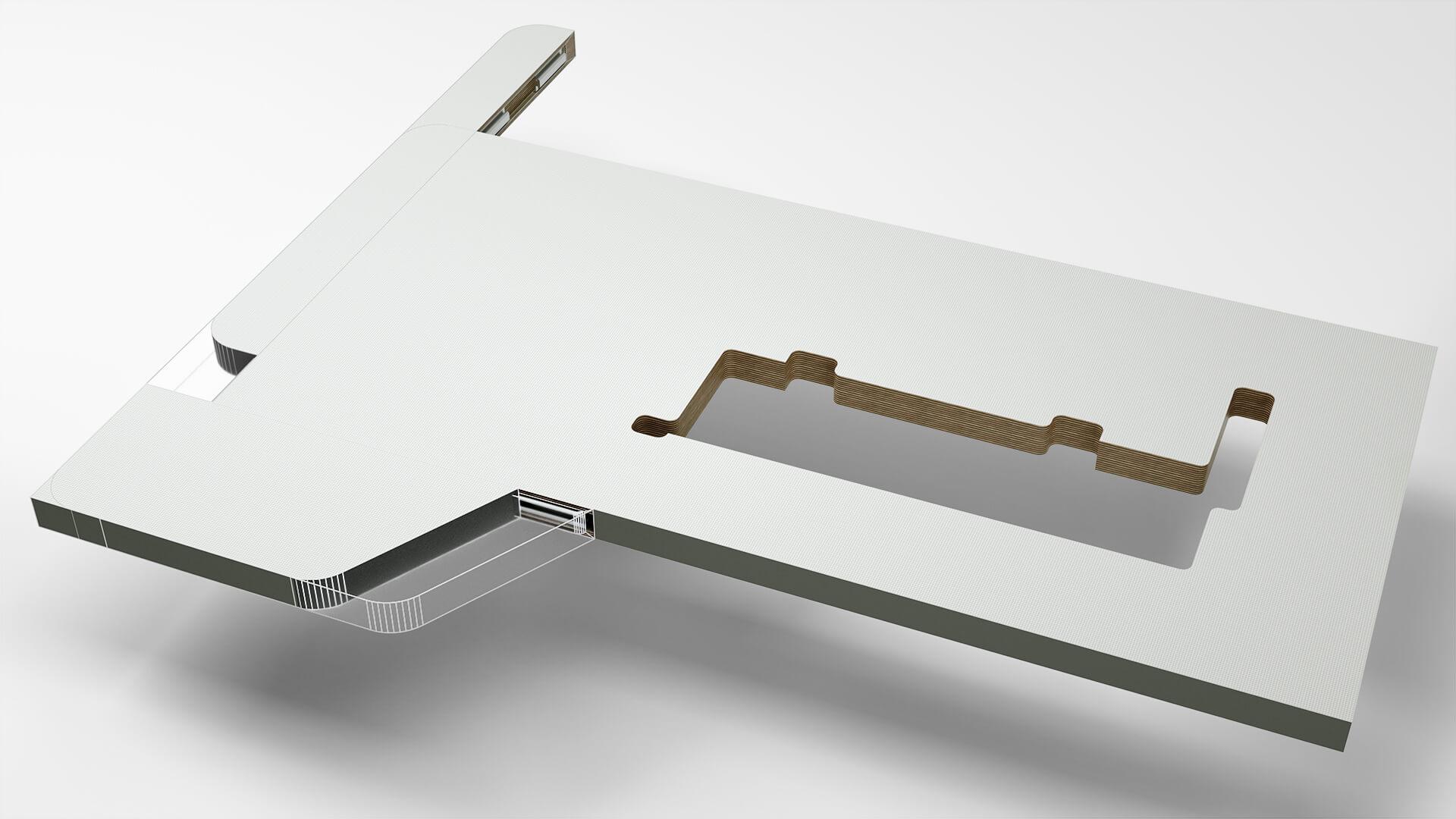 Tischplatte MTS